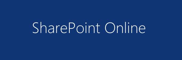 recursos do SharePoint Online